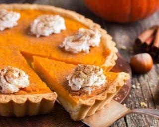 Pumpkin Pie comme au Canada en version minceur (mélasse à remplacer par du sirop d'érable)