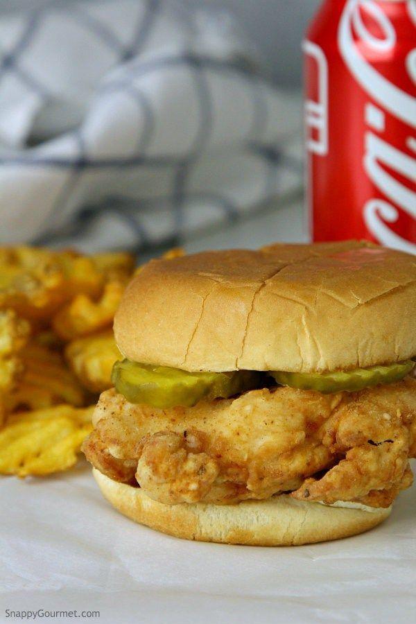 Homemade Chick-Fil-a Sandwiches Recipe — Dishmaps