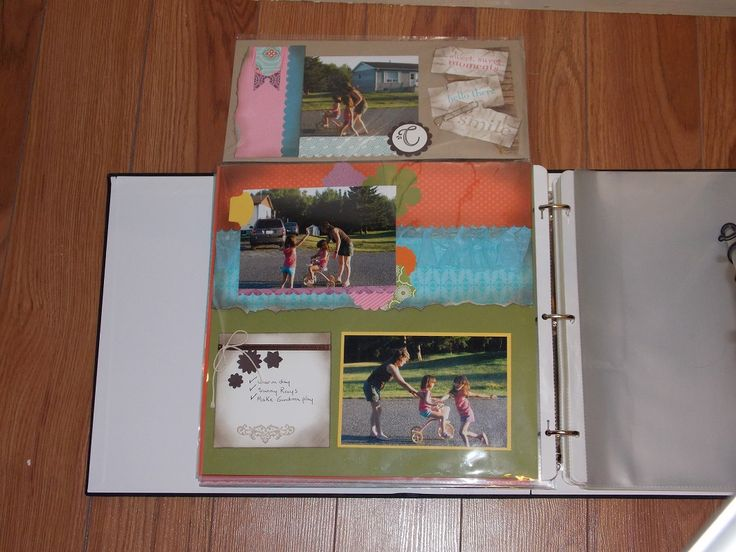 Flip Pocket Open  All products used to make this card are from Stampin Up!
