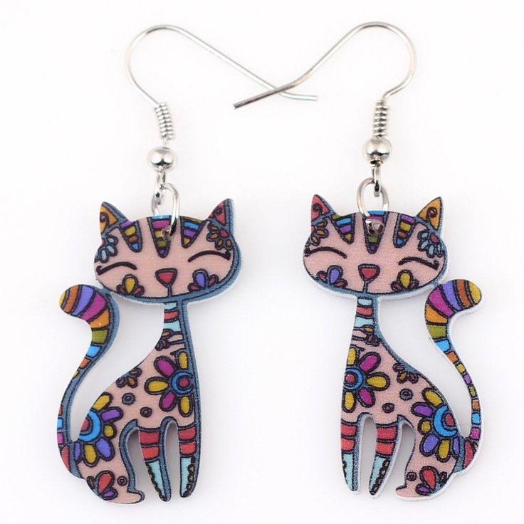 Cat Lovers Earrings
