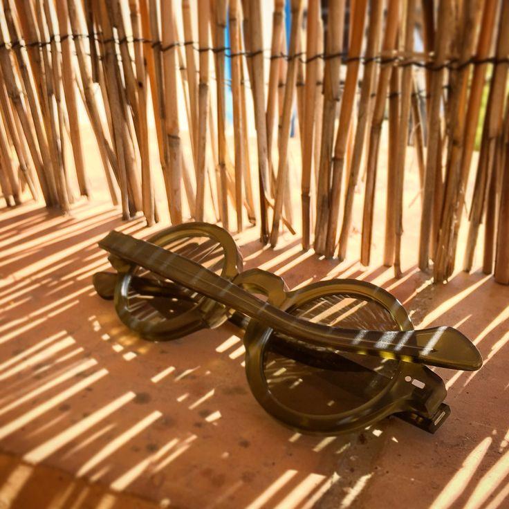 Movitra 215 Cristal Green #sunglasses #movitra #movitraspectacles