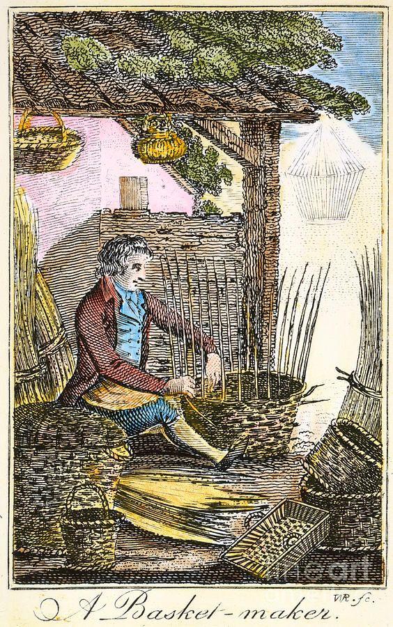 colonial basket maker