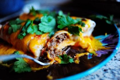Beef and Bean Burritos  |  so simple, so delicious