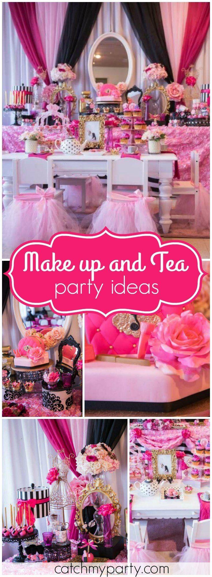 25+ Best Makeup Birthday Parties Ideas On Pinterest