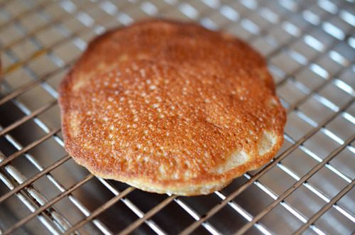 Cinnamon and Coconut Pancakes (tastes more like banana pancakes but very good and very easy - double the recipe!)