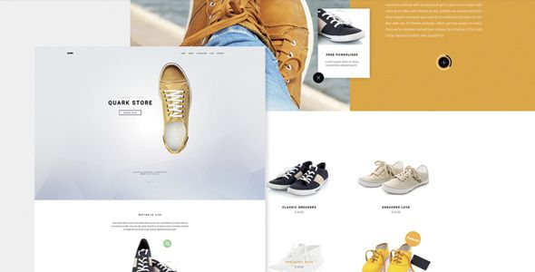 Quark - Single Product - eCommerce WordPress  Theme