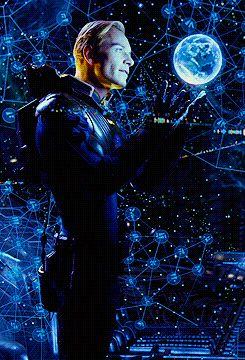 Michael Fassbender #prometheus