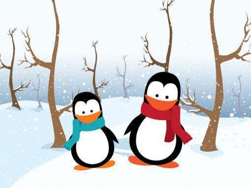 La increíble historia de dos pingüinos del Polo Norte