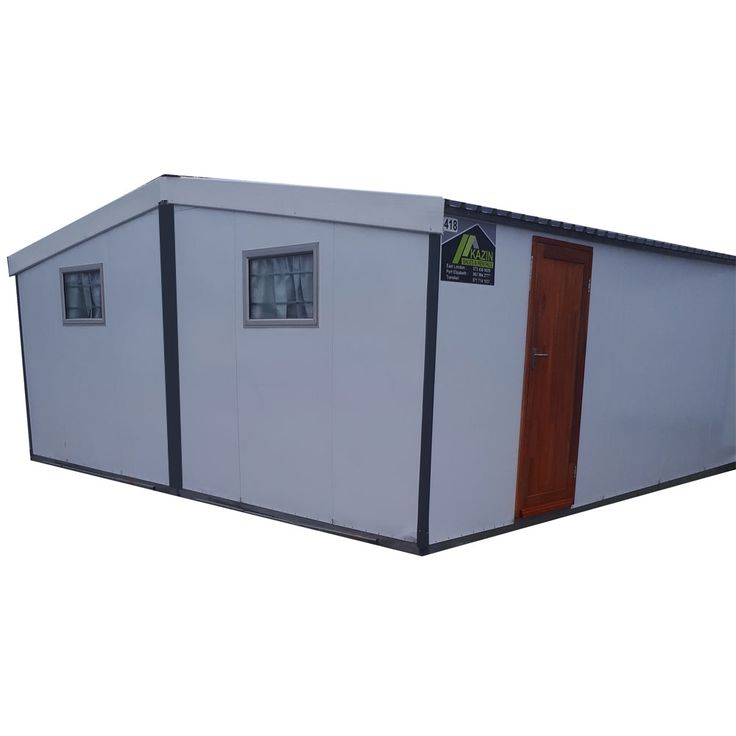 Kazin Insulated Unit 7.2m x 6.8m Suitable for Site Offices, Classrooms, Clinics & Accommodation
