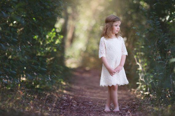 junior abiti da Damigella vestito ragazza di di CountryCoutureCo