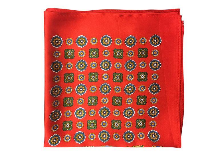 Mens Silk Pocket Square - Gold Rain by VIDA VIDA Big Discount Cheap Price FxAc1p