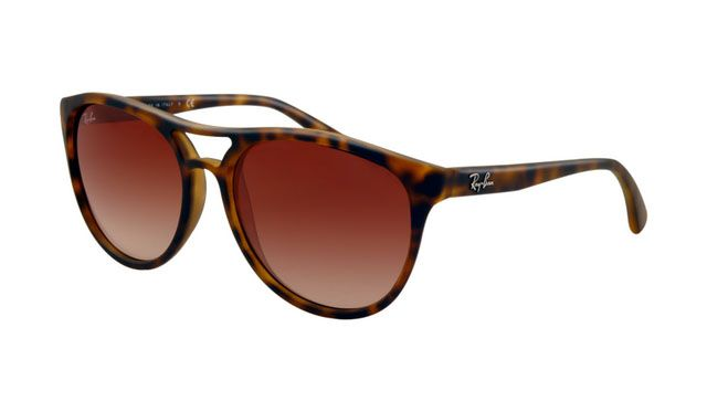 $19.88! #Ray #Ban #Sunglasses Ray Ban RB4170 Sunglasses Rubberized Havana Frame Brown Gradient