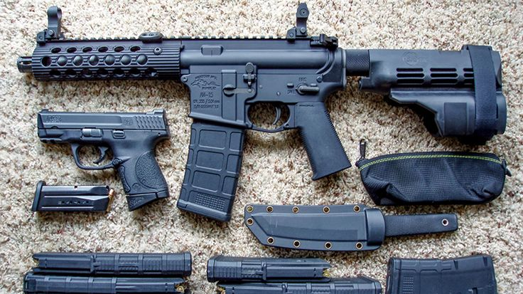7 Reasons Why Owning An AR-15 Pistol Is Totally Worth It - Reason #2 AR-15 Pistols Accept The Same Magazines and Parts as the Rifle