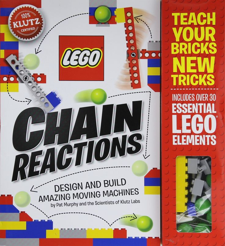 Amazon | Lego Chain Reactions (Klutz S) | Pat Murphy, Scientists of Klutz Labs | Models | 洋書 通販