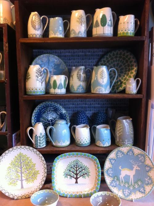 studio shelves Katrin Moye.