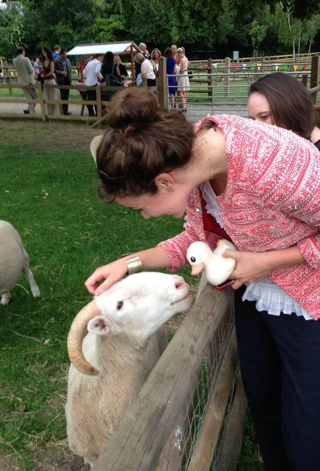 Kawan making new friends at Mudchute Park & Farm http://ow.ly/wjXGL