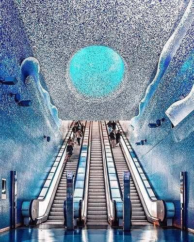 Viaggi: Sembra di #mettere piede nello spazio e invece è l... (igersitalia) (link: http://ift.tt/2nCNqHD )