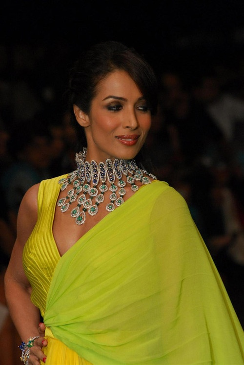 Malaika Arora Khan at IIJW 2012