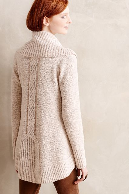 Cabled Boucle Pullover - anthropologie.com