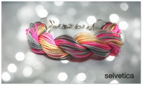 Twisted bracelet.  For order:   http://www.facebook.com/Selvetica