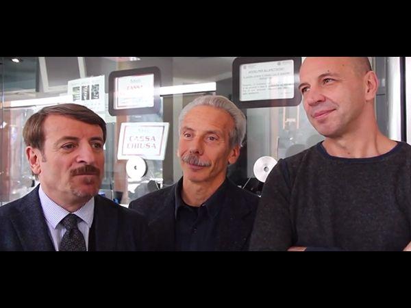 La videointervista di Aldo, Giovanni e Giacomo per Il ricco, il povero e il maggiordomo in uscita l'11 Dicembre 2014. http://www.oggialcinema.net/aldo-giovanni-giacomo-videointervista/