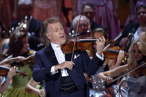 Andre Rieu Photos - Andre Rieu during the tv show 'Heiligabend mit Carmen Nebel' on November 23, 2016 in Munich, Germany. The show will air on December 24, 2016. - Andre Rieu Photos - 9 of 343