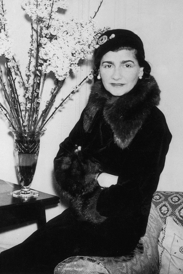 Coco Chanel in London, 1932. Where it ALL began.