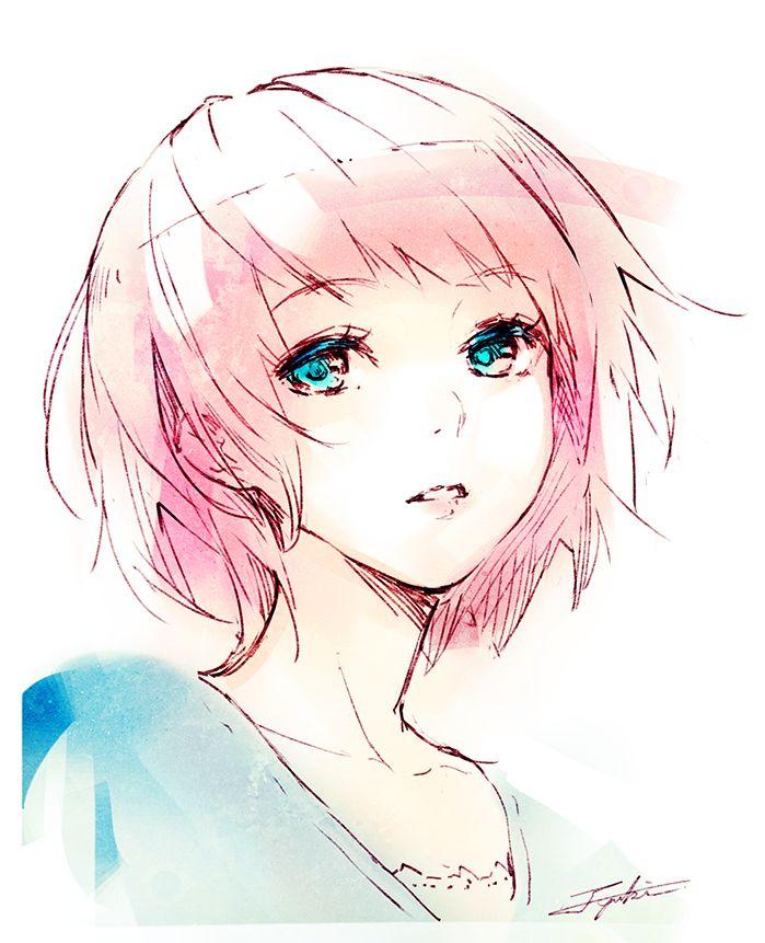 Light Pink Hoodie Best 20+ Anime girl pink ideas on Pinterest