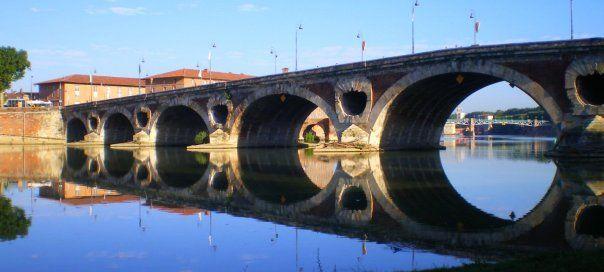#france #франция #toulouse #тулуза #чтопосмотреть #достопримечательности #мосты Мост в Тулузе. Что посмотреть в Тулузе? Достопримечательности и музеи.   Oh!France: поездка во Францию