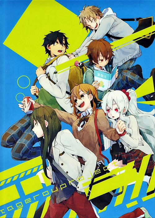 Kano, Seto, Hibiya, Kido, Momo & Marry with school uniforms! | Kagerou Project/MekakuCity Actors
