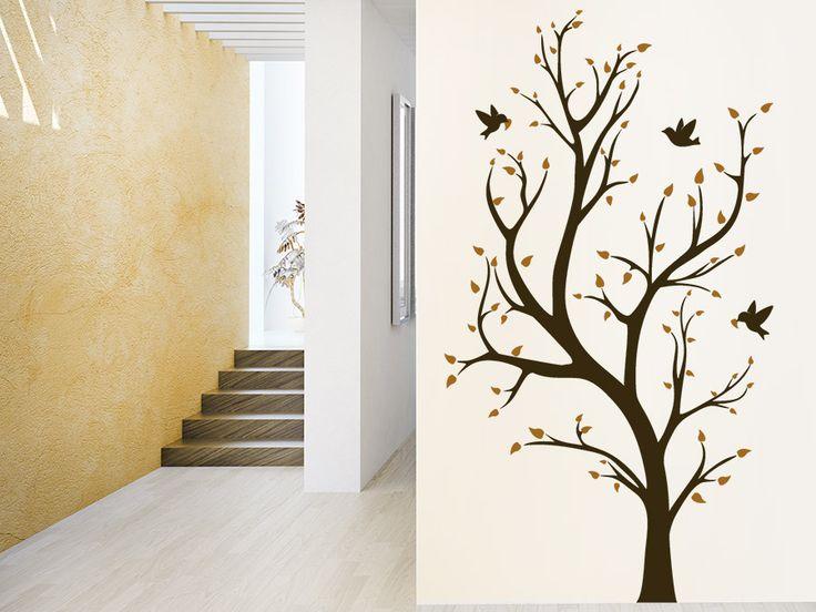 73 besten kreative wandtattoos inspirierende wandtrends f r alle r ume bilder auf pinterest. Black Bedroom Furniture Sets. Home Design Ideas
