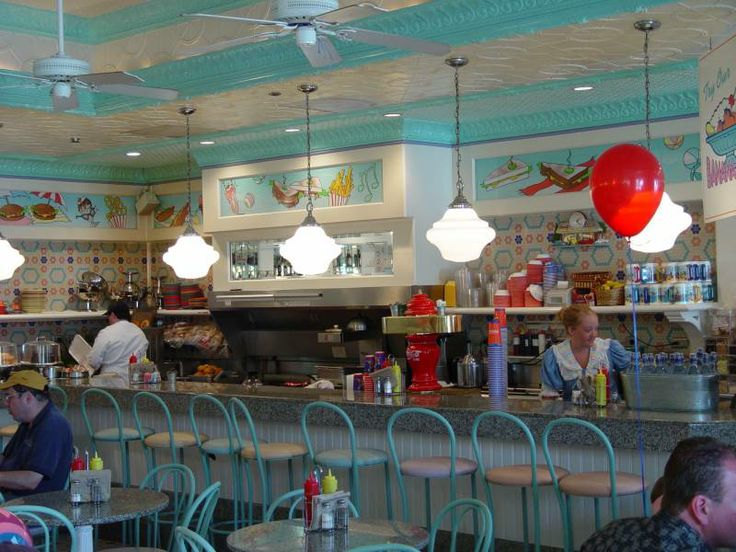 79 Best images about 50s Dinning Restaurants on Pinterest ...