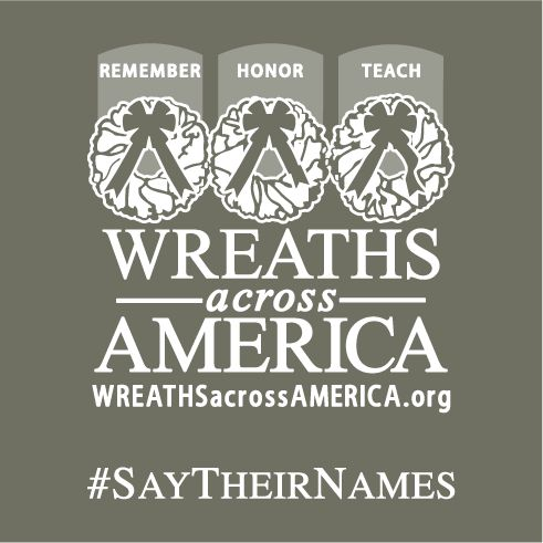 Click here to support 2016 Wreaths Across America organized by Wreaths Across America Headquarters
