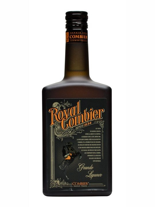Royal Combier Liqueur : Buy Online - The Whisky Exchange - Created in 1860, while Jean-Baptiste Combier was in prison, this blend of Original Combier, Elixir Combier and VSOP cognac, along with a variety of herbs and spices, is packed full of orange and sp...