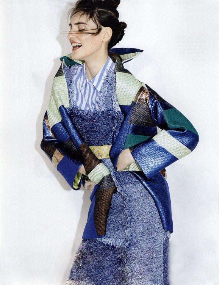 #MMissoni   DENIM DRESS   ONLINE ESCLUSIVE   #MOSTWANTEDDRESS   Spring 2015 Collection   Elle, Italy