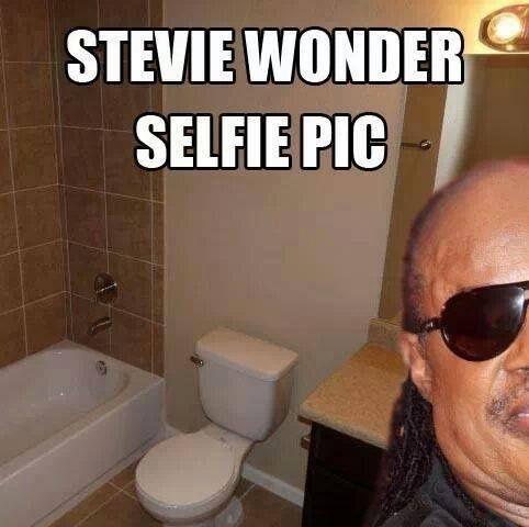 Stevie Wonder Selfie  ;-)