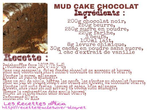 Gateau chocolat pour cake design