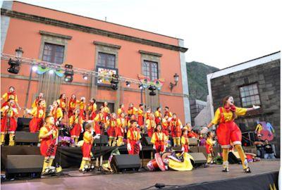 Grupo Mascarada Carnaval: IX Certamen de Murgas Infantiles del Norte