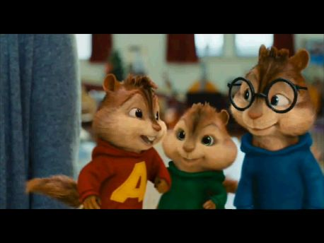 The Chipmunks - Home (with lyrics).