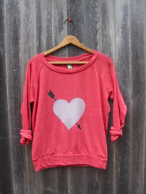 Green on Valentines Day? by Messy on Etsy