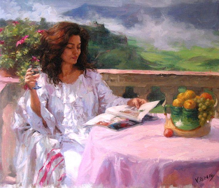 Vicente Romero Redondo Paintings | Художник Vicente Romero Redondo (14 работ)