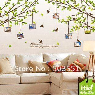 Cool Abnehmbaren Foto Baum Vinyl Wandsticker Wandbild In Von Auf With  Gnstige Wandbilder