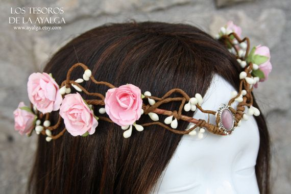 Made to order elven bride tiara elven tiara fairy by Ayalga