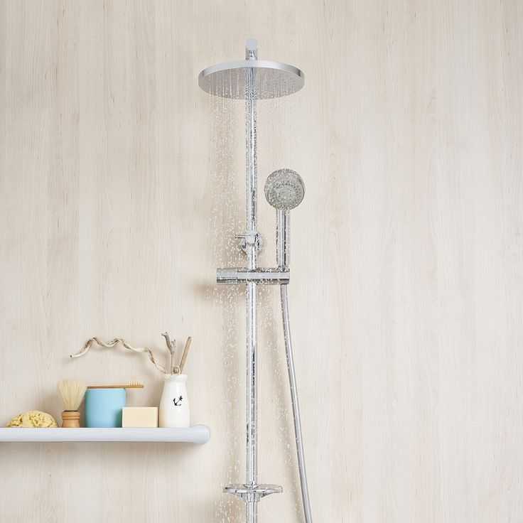 Caroma Urbane Rail Shower with Overhead  $650-$850