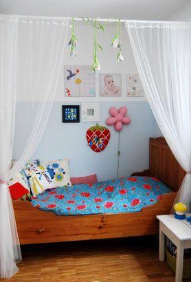 Kuschelhöhle kinderzimmer selber bauen  Die besten 25+ Himmelbett kind Ideen auf Pinterest | Betten für ...
