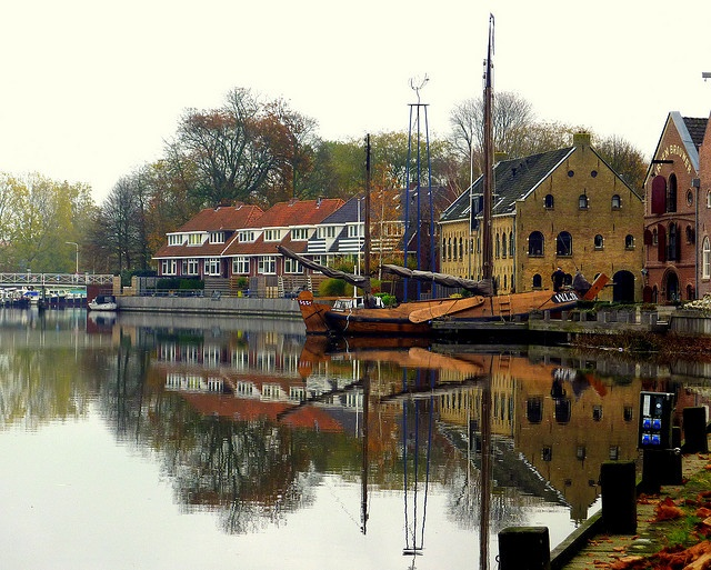 Dokkum, Friesland ~ The Netherlands. I LOVE this photo.