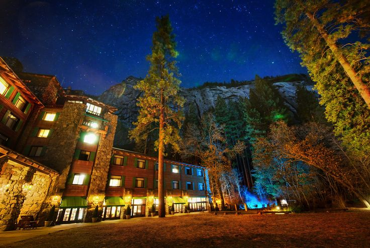On the final night of the Yosemite PhotoWalk, we ended up here to explore the evening.  This is the Ahwahnee Hotel in Yosemite, and I hope I made it look as beautiful as it really is.  This is also the place that Steve Jobs got married.  - Yosemite, California  - Photo from #treyratcliff Trey Ratcliff at http://www.StuckInCustoms.com