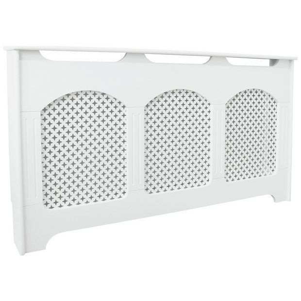 Classic With Flutes White Radiator Covers Radiator Cover Home