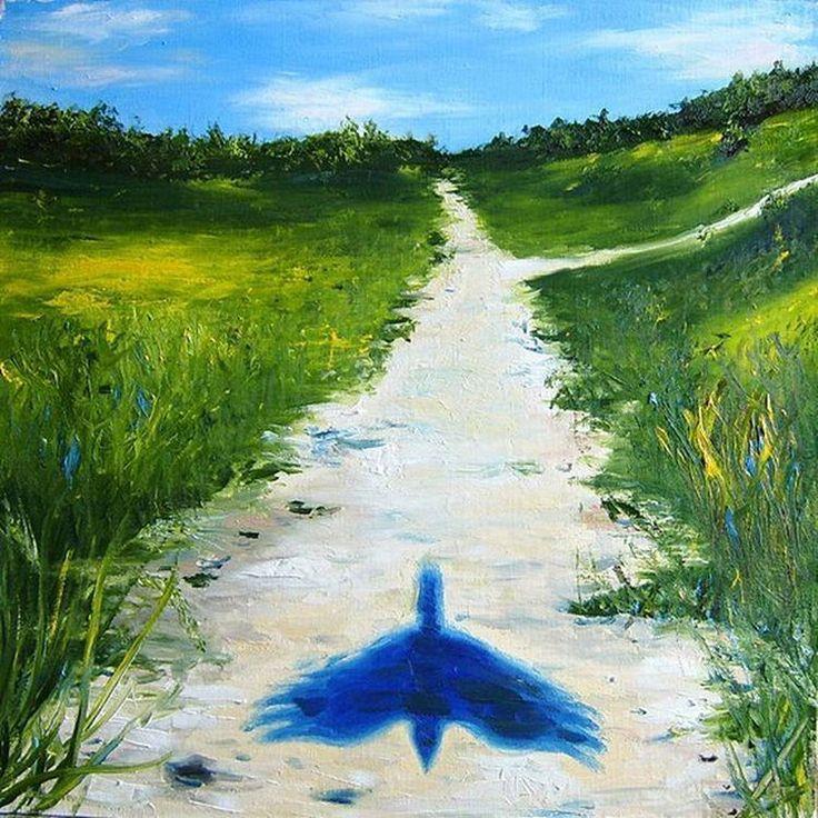 ПТИЦА  холст/масло  50х50 см  Художник: Сергей Феленгер  Сначала мы видим просто тень птицы, которая пролетает за кадром... _____________________  #холстмасло #краскижизни #шедевр #творческаямастерская #художники #дизайн #творим #талант #рисование #творческийпроцесс #моеискусство #таланты #фотодня #тушь #инстаарт #люблюискусство #искусство #картина #картины #творение #художник #рисунок #творчество #креатив #красота #графика #картинамаслом #мысли #холст #творю