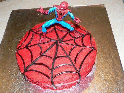 Spiderman cake this year for ASHTON?? :)